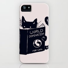 World Domination For Cats Slim Case iPhone (5, 5s)