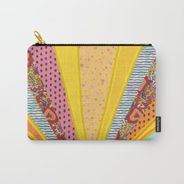 Sun Patterns Carry-All Pouch