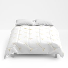 Gold Foiled Arrow Comforters