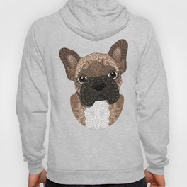 Brown Frenchie Puppy 001 Hoody