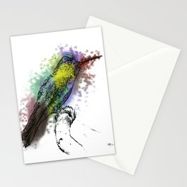 may my heart always be open to little birds Stationery Cards