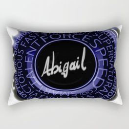 My Name is Abigail Rectangular Pillow