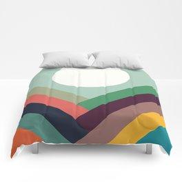 Row of valleys Comforters