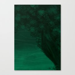 Declined Canvas Print