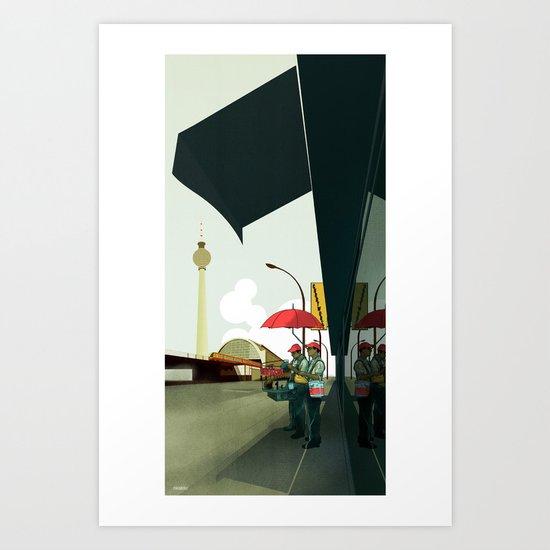 Alexander Platz II Art Print
