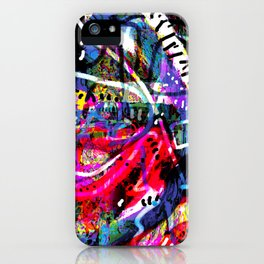 Caramel Yoga (abstract art) iPhone Case
