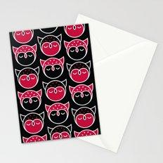 Owl Pattern Stationery Cards