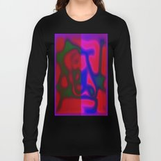 Red Color Leak Long Sleeve T-shirt