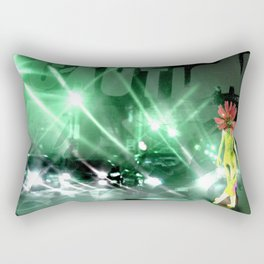 Alone in my Room 349  Rectangular Pillow