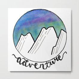 Adventure Borealis Metal Print