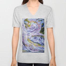 "William Blake ""Milton's Mysterious Dream"" Unisex V-Neck"