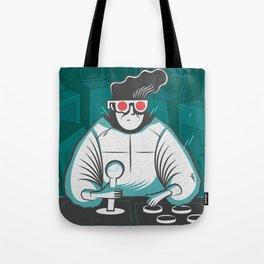 arcade nerd Tote Bag