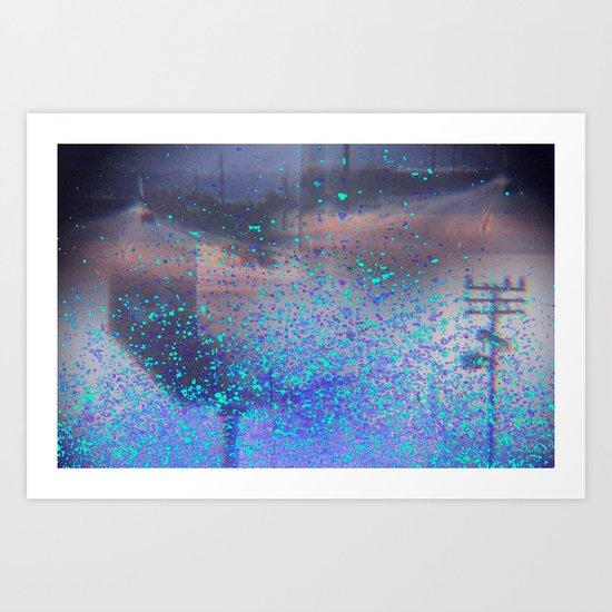 road to the dream Art Print