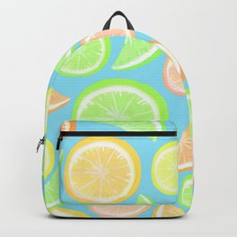 Mixed Citrus - blue Backpack