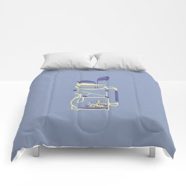 bottle 9 : theiere alambiquee Comforters