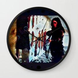 Inimical Beast Wall Clock