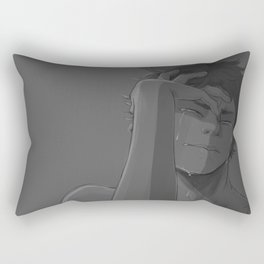sometimes it's just all too much Rectangular Pillow