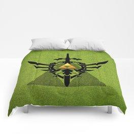 Zelda Link Triforce Comforters