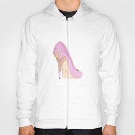 Pink Shoe Hoody