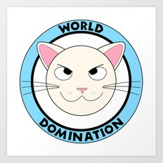 World Domination Art Print