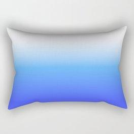 Aqua Ombre Rectangular Pillow