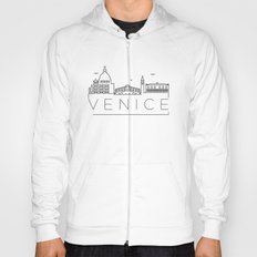 Linear Venice Skyline Design Hoody