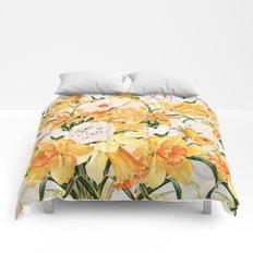 Wordsworth  and daffodils. Comforters