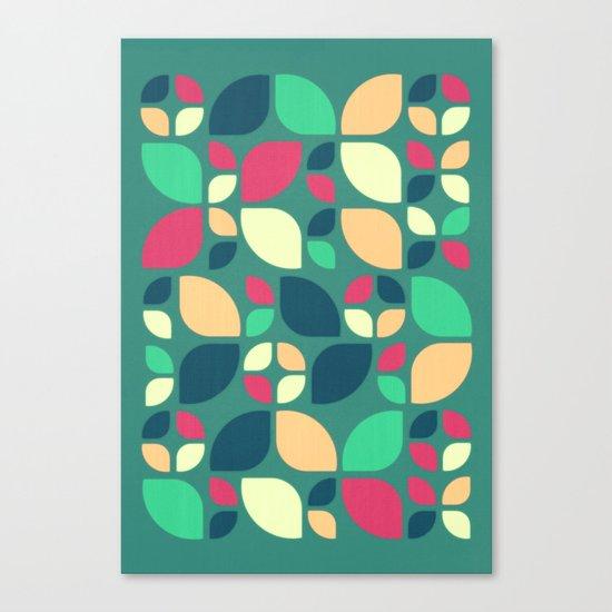 Vintage Spring Pattern II Canvas Print