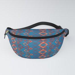 Ethnic ikat pattern.6 Fanny Pack