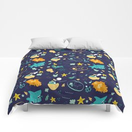 Fisherman's Seaside Comforters