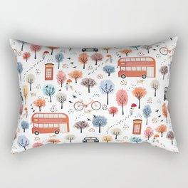 London transport Rectangular Pillow