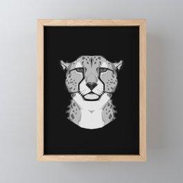 Wild Cats - Cheetah Framed Mini Art Print