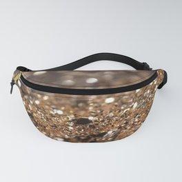 Gold Night Lady Glitter #1 #shiny #decor #art #society6 Fanny Pack
