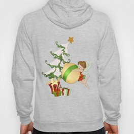 Fairy Merry Christmas Hoody
