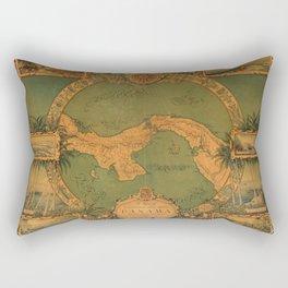 Historical Map of Panama Rectangular Pillow