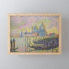 Grand Canal (Venice) - Paul Signac Framed Mini Art Print