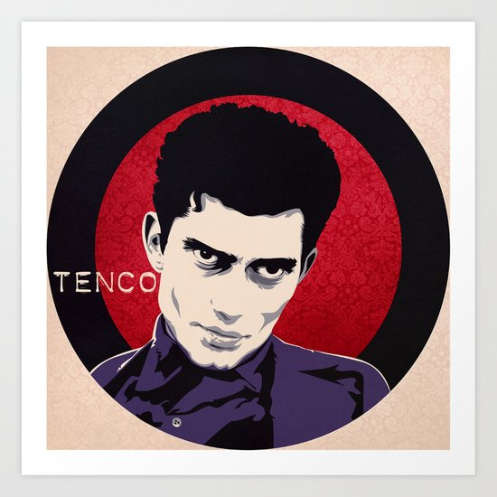 Tenco Art Print