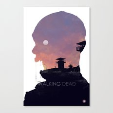 The Walking Dead - Season 3 Canvas Print