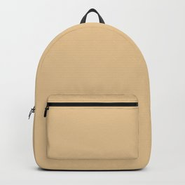 From The Crayon Box – Gold Brown Solid Color Backpack