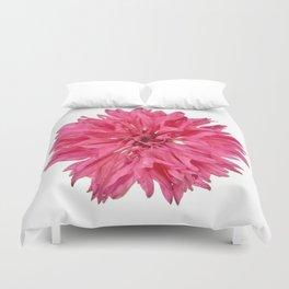 Pink Cornflower Duvet Cover