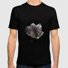 Mineral Black LARGE Mens Fitted Tee