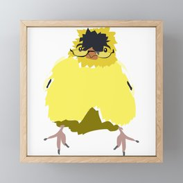 Mr. Goldfinch Framed Mini Art Print