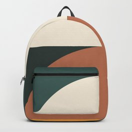 Abstract Geometric 01E Backpack
