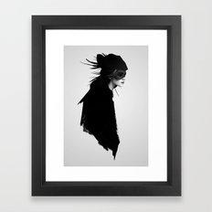 The Drift Framed Art Print