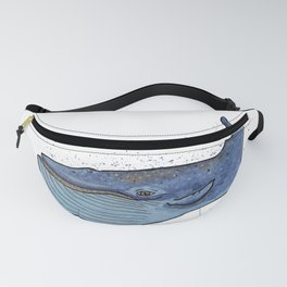 blue whale Fanny Pack