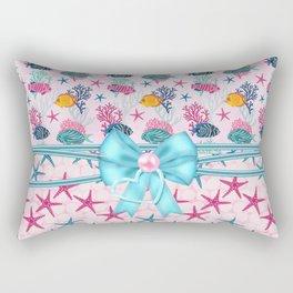 Starfish Sea Life Tropical Fish Rectangular Pillow