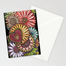 I Love Flowers Stationery Cards