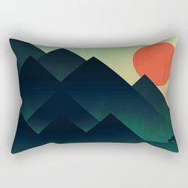 World to see Rectangular Pillow