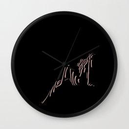 My Babe Wall Clock