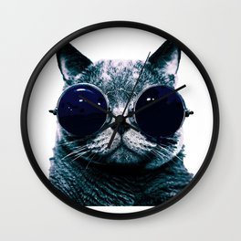 Cool Cat Wall Clock